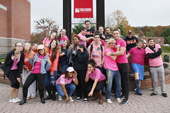Breast Cancer Awareness (FSU Student & Community Involvement) Tags: frostburg fsu frostburgstateuniversity greek greeklife themuku josephogunsanyajr support breast cancer