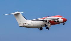 G-OTIF BAe Systems British Aerospace BAe 146-200QC @ Exeter Airport, Devon. (Cornish Aviation) Tags: gotif bae systems british aerospace 146200qc exeter airport devon avro rj85 146 200 avgeek airplane planes aviation