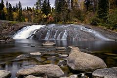 Chute du voile de la mariée rivière du moulin