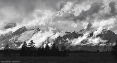 Mountain, Cloud and Light (David C. McCormack) Tags: americana artistic blackwhite bw blackandwhite country eos eos6d environment energy western west tetons weather grandtetonnationalpark inspiration jacksonhole landscape mountains monochrome nature nationalparks rockymountains spiritual rural recreation wyoming