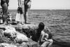 by the sea (gorbot.) Tags: fujifilmxpro1 xpro1 35mmfujinonf14 blackandwhite monochrome roberta sicilia sicily palermo summer