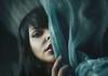 Silent Veil (Martuga JT) Tags: autorretrato selfportrait girl blue veil lips woman nature light conceptual