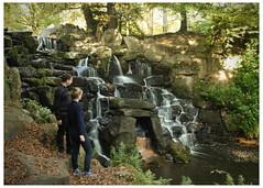 0048 Waterfall,04,5x7 (mikeinfleet) Tags: virginiawater surrey waterfall falls water