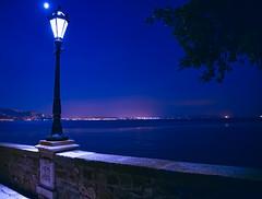 Lights on the sea (Sophai900) Tags: sea blue night landscape lights nikon d750 italy