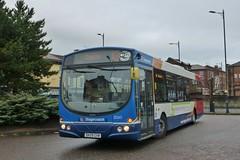 DK09GXW Stagecoach Merseyside & South Lancashire Volvo B7RLE 21262 (Sharksmith) Tags: bus birkenhead dk09gxw stagecoach stagecoachmerseysidesouthlancashire volvob7rle wrighteclipseurban 21262 routex8 firstchester 69486 conwaystreet argylestreet