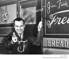 WRGB uncle jim fisk (albany group archive) Tags: albany ny channel 6 wrgb schenectady uncle jim fisk 1950s 1960s friehofer breadtime stories