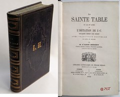 La Sainte Table, Abbé Herbet, Périsse Frères, 1862 (Kean105) Tags: livresanciens vieuxlivres antiquebooks religion jésus christ christianisme catholique église liturgie