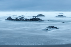 Gray Dawn (roe.nate) Tags: rock stone surf longexposure ocean sea pacific oregon water pnw