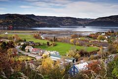 Village de L'Anse-Saint-Jean (gaudreaultnormand) Tags: canada fjord lansesaintjean pontcouvert quebec river riviere saguenay village