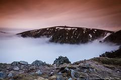 Le hohneck (Manonlemagnion) Tags: paysages nature vosges brume merdebrouillard hohneck coucherdusoleil sunset lumire couleurs nikond7000 1685mm