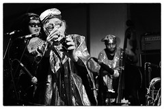 Sun Ra Arkestra @ Cafe Oto, London, 23rd November 2016 (fabiolug) Tags: evi sunraarkestra sunra arkestra directedbymarshallallen ledbymarshallallen marshallallen jazz avantgarde avantgardejazz cafeoto london dalston music gig performance concert live livemusic leicammonochrom mmonochrom monochrom leicamonochrom leica leicam rangefinder blackandwhite blackwhite bw monochrome biancoenero zeisscsonnartf1550mmzm zeisszm50mmf15csonnar zeisscsonnar zeisssonnar zeiss sonnar 50mm sonnar50mm 50mmf15