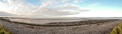 Panorama from Hest Bank across Morecambe Bay (Graham Howarth) Tags: walk from hest bank towards carnforth back along towpath lancaster canal panorama across morecambe bay