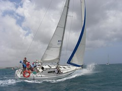 203-DSCN9788 (eric15) Tags: sea beach water race cat for boat eva surf sailing wind offshore sailors luna aruba international dash sail regatta sailor optimist sunfish oranjestad surfside