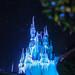 Dream lights at Cinderella Castle, Magic Kingdom