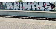 Graffiti Antwerp Luchtbal RR (rogerpb) Tags: street city railroad decorations urban streetart art tourism graffiti mural europe belgium kunst sightseeing streetphotography belgi tags urbanart spraypaint antwerp tagging belgica antwerpen aerosolart seaport amberes anvers spraycanart flanders muurschildering spoorweg vlaanderen luchtbal straatkunst walldecoration guerrillaart zeehaven belgiangraffiti belgianstreetart panasoniclumixdmctz8 rogerbrosius
