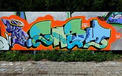 Graffiti Skatezone (oerendhard1) Tags: urban streetart art graffiti rotterdam gap drs capelle casm skatezone