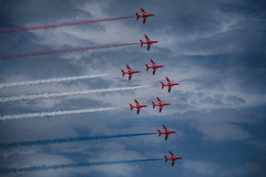 Herne Bay Air Show 2015 (Red Tie Photography) Tags: kent jon hdr redarrows raf jonl hernebay niksoftware jonlambert redtiephotography hernebayairshow baypromotionteam