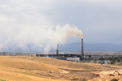 Breathe, breathe in the air (monorail_kz) Tags: chimney industrial smoke pollution kazakhstan almaty heatingplant boralday