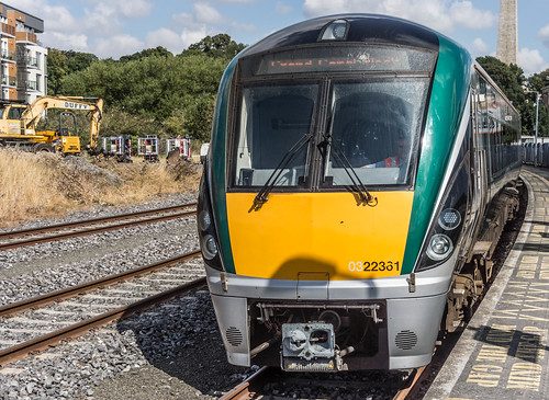 THE MINISTER PLUS PLATFORM 10 AND THE PHOENIX PARK RAILWAY TUNNEL [NOT FORGETTING IRISH RAIL STAFF] REF-107102