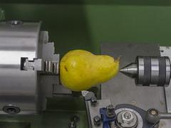 Birnenschälmaschine