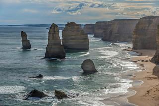 The Apostles.  The Great Ocean Road.  Victoria, Australia (see related photos in my Australia Album)