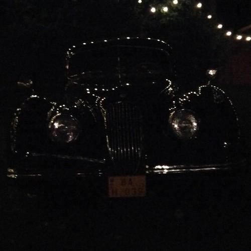 Jaguar in the dark...