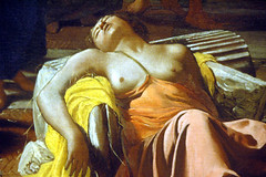 "Detail of ""Plague in an Ancient City"" (EmperorNorton47) Tags: california summer woman art museum digital painting nude photo losangeles afternoon interior dying lacma losangelescountymuseumofart michaelsweerts plagueinanancientcity"