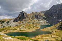 The Twin Lake and Haramiyata Peak (Boris Genov) Tags: mountain lake bulgaria rila ezero   bliznaka haramiyata