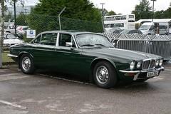 1978 Jaguar XJ6 4.2 (davocano) Tags: brooklands jaguarenthusiastsclub aah76s