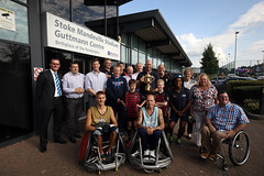 Rugby World Cup Trophy Tour - Stoke Mandeville (Steve Parsons Photography) 5
