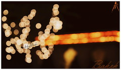 """Bokeh""- Neemrana Special (Adee Singh(ClickoGrapher)) Tags: lighting travel orange india abstract art colors beautiful beauty creativity lights nikon focus artistic bokeh fort indian creative palace concept rajasthan diaries neemrana defocus"