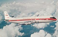 TCA Vanguard CF-TKB (Proplinerman) Tags: airplane aircraft airliner turboprop vanguard vickers propliner vickersvanguard