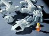 EAGLE 09 LEGO ((K_A) King_Arthur) Tags: show moon lune one tv noir lego eagle space 1999 modular scifi spaceship alpha moonbase ideas cosmos spacecraft transporter aigle