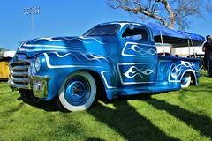 2015 Grand National Roadster Show (USautos98) Tags: 1954 gmc hotrod streetrod kustom scalloppaint grandnationalroadstershow gnrs pomona california pickuptruck 1953