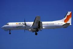Air Europa Express BAe ATP EC-GNJ BCN 23/06/1997 (jordi757) Tags: barcelona nikon airplanes bcn atp kodachrome bae f90x kodachrome64 avions aireuropa elprat lebl aireuropaexpress ecgnj
