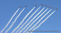 Snowbirds Missing Man Formation_MG_5137 (CdnAvSpotter) Tags: vintage wings britain ottawa hill parliament battle 20 sept rcaf 2015 flypast
