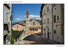 Spoleto - La Cattedrale di Santa MariA (Andrea di Florio (5,000,000 views)) Tags: santa street nikon maria chiesa e piazza duomo spoleto bianco nero umbria interno scultura assunta religione d600 lucenaturale andreadiflorio