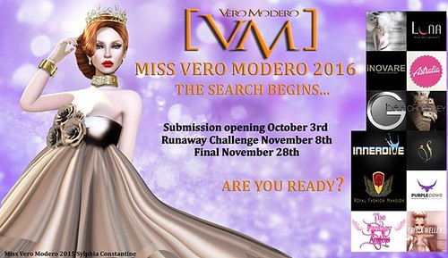 Miss [VM] Vero Modero  The advanture begins…