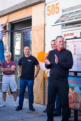 20151008-FlippinGood-05 (clvpio) Tags: vegas october downtown mayor lasvegas good burger event opening flipping goodman 2015