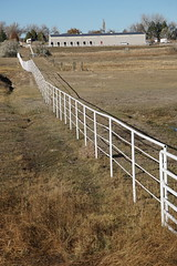 Fence Forever (Let Ideas Compete) Tags: fence colorado farm boulder straight whitefence straightline bouoder