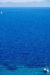 wanderlust (ToDoe) Tags: blue sea mountains boats boot coast boat meer sailing yacht ships wanderlust macedonia blau timeless segeln segelboot küste wellen bucht chalkidiki bluesea halkidiki sithonia mittelmeer jacht fernweh makedonia tiefblau itchyfeet segeljacht blauesmeer μακεδονια macedoniagreece