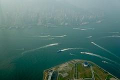 Victoria Harbour - view from Kowloon. (shinnygogo) Tags: hongkong asia waterfront oct biztrip victoriaharbor 2015