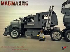 Max, and the war rig (the_real_punch) Tags: max brick truck movie pod war lego joe miller rig mad tanker fuel tatra cinma briques apoc moc furiosa warboy postapoc t815 furyroad immortan porteguerre