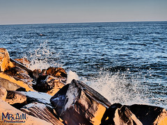 Juicy rocks (MBlain) Tags: italien sea water beautiful rock photography juicy rocks meer italia colours deep surreal crater ufer cinematic landschaft küste ozean naturesfinest gh4 amazingamateur