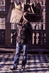 senza testa a palazzo madama (battista ferrero) Tags: torino opera head turin palazzomadama piazzacastello senzatesta enzocucchi battistaferrero retulip