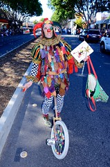 2015 Occasional Doo Dah Parade: Rumpelstiltskin Uni (Billy Bennight) Tags: california girls camp music usa silly sexy toy bush furry funky beaver hollywood devil furries roseparade hotgirls instruments doo dah campy doodah morebeer doodahparade toyinstruments circuitbenders bendrs