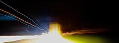 Le camion - The truck (Max Sat) Tags: longexposure blue light orange black blur france cars colors car night speed truck french rouge lights evening lampe highway automobile colorful nightlights fuji couleurs or autobahn voiture bleu camion autoroute soir nuit atnight fujinon couloir flou vitesse phares projecteur poselongue xe1 lumières lumière maxsat français xf14 fujixe1 maxwellsaturnin