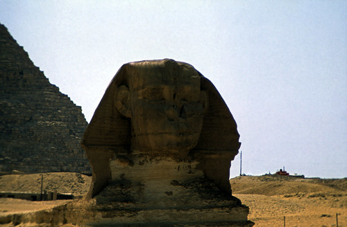 "Ägypten 1983 (26) Gizeh: Sphinx • <a style=""font-size:0.8em;"" href=""http://www.flickr.com/photos/69570948@N04/23052090721/"" target=""_blank"">View on Flickr</a>"