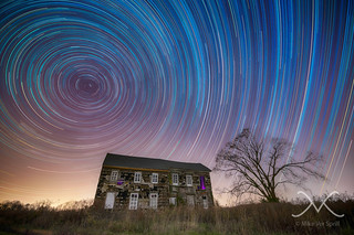Abandone History Revisited Star Trails