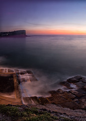 South Avalon Sunrise (RoosterMan64) Tags: ocean seascape sunrise rocks rockpool oceanpool southavalon rockshelf